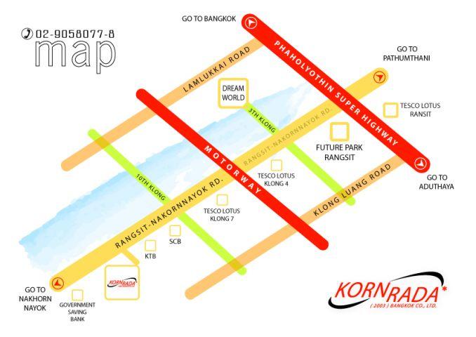 Kornrada's Map