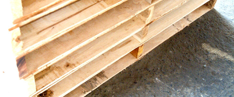 พาเลทไม้แบบมาตรฐาน (3 คาน) | Basic Type Wood Pallet