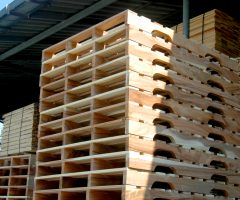 พาเลทไม้แบบคานเว้าขา | Inserted-Able Beam Wood Pallet