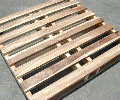 พาเลทไม้แบบสี่คาน | Four Beams Wood Pallet
