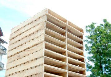 พาเลทไม้แบบสองหน้า | Heavy-Duty Wood Pallet